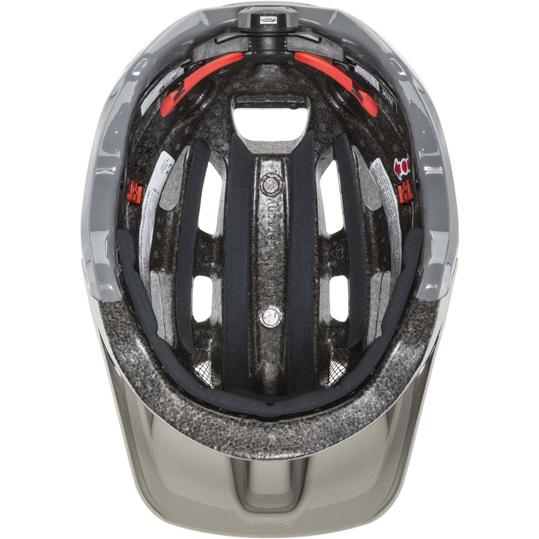 Image of Uvex finale 2.0 Tocsen Helmet - sand dark rhino mat