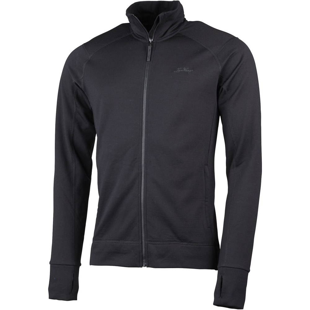 Lundhags Ullto Merino Full Zip Jacket - Black 900