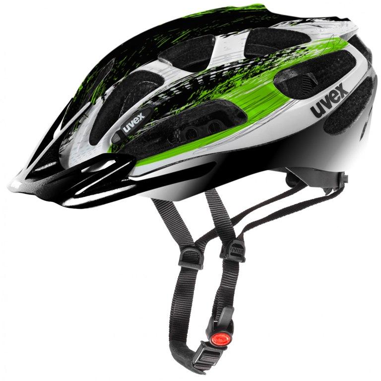 Image of Uvex supersonic Helmet - black-green