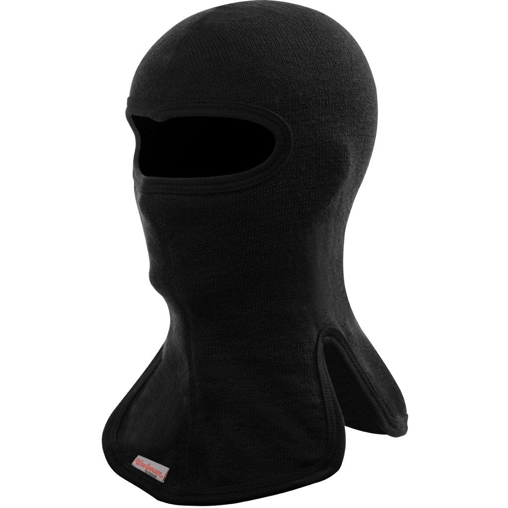 Bild von Woolpower Balaclava 400 Gesichtsschutz - schwarz