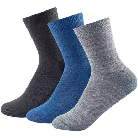 Devold Daily Light Socks (3pk) - 273 indigo mix