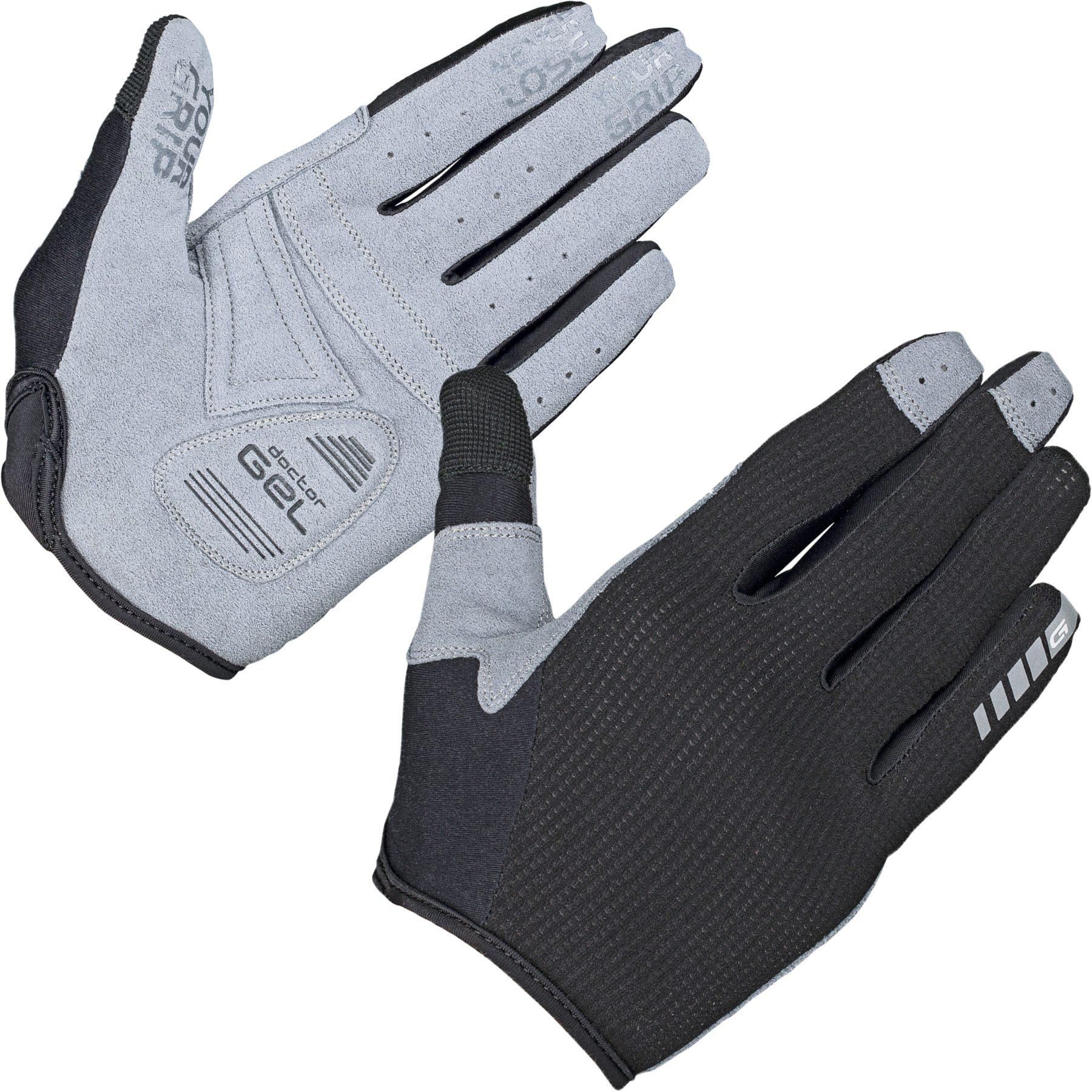 GripGrab Women's Shark Padded Full Finger Glove - black