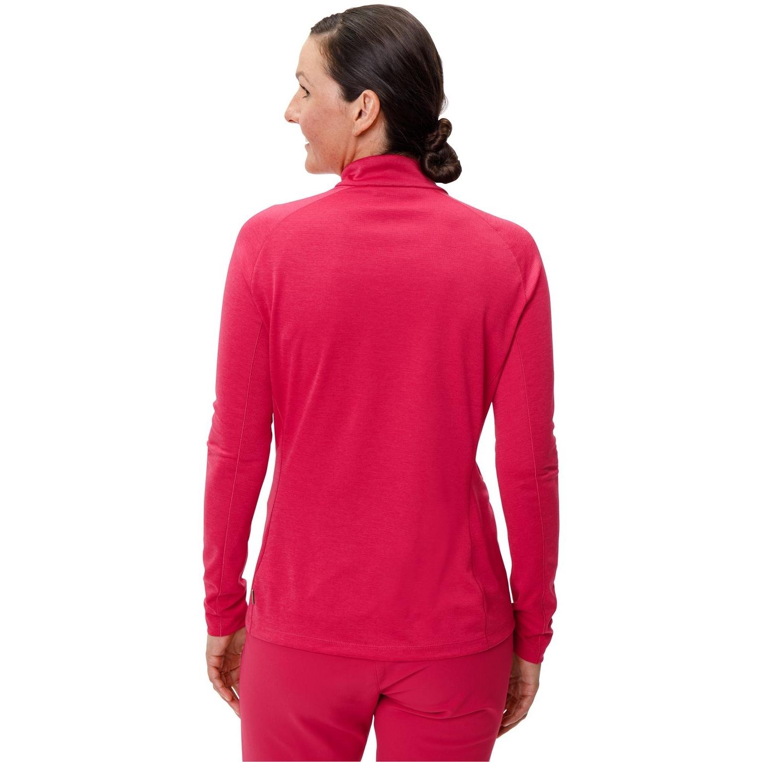 Bild von Vaude Larice Light Shirt II Damenpullover - crimson red