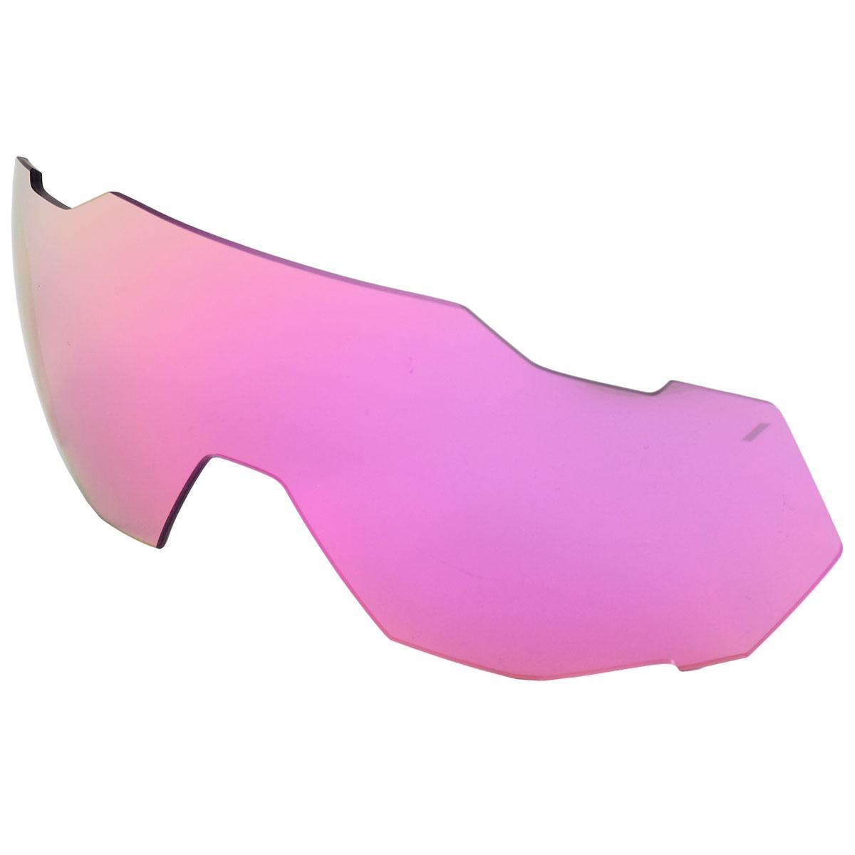 100% Speedtrap Mirror Lente de repuesto - Purple Multilayer Mirror