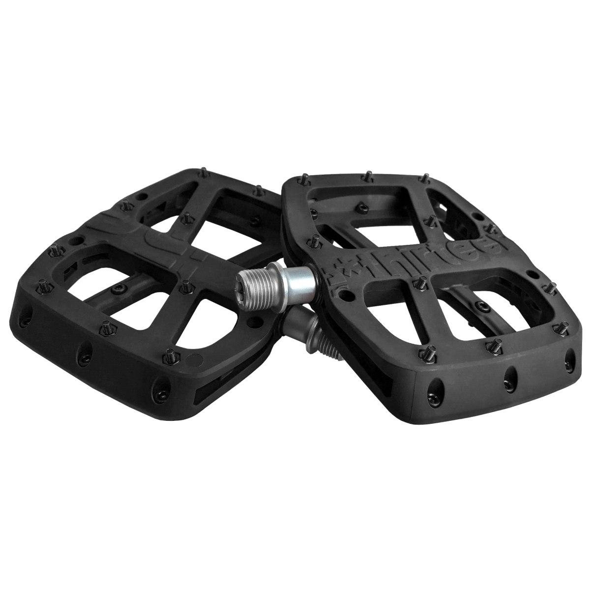 e*thirteen Base Flat Pedal - black