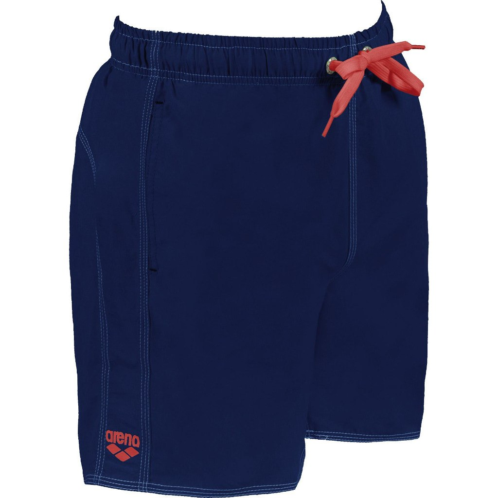 Image of arena Fundamentals Solid Boxer - navy/red