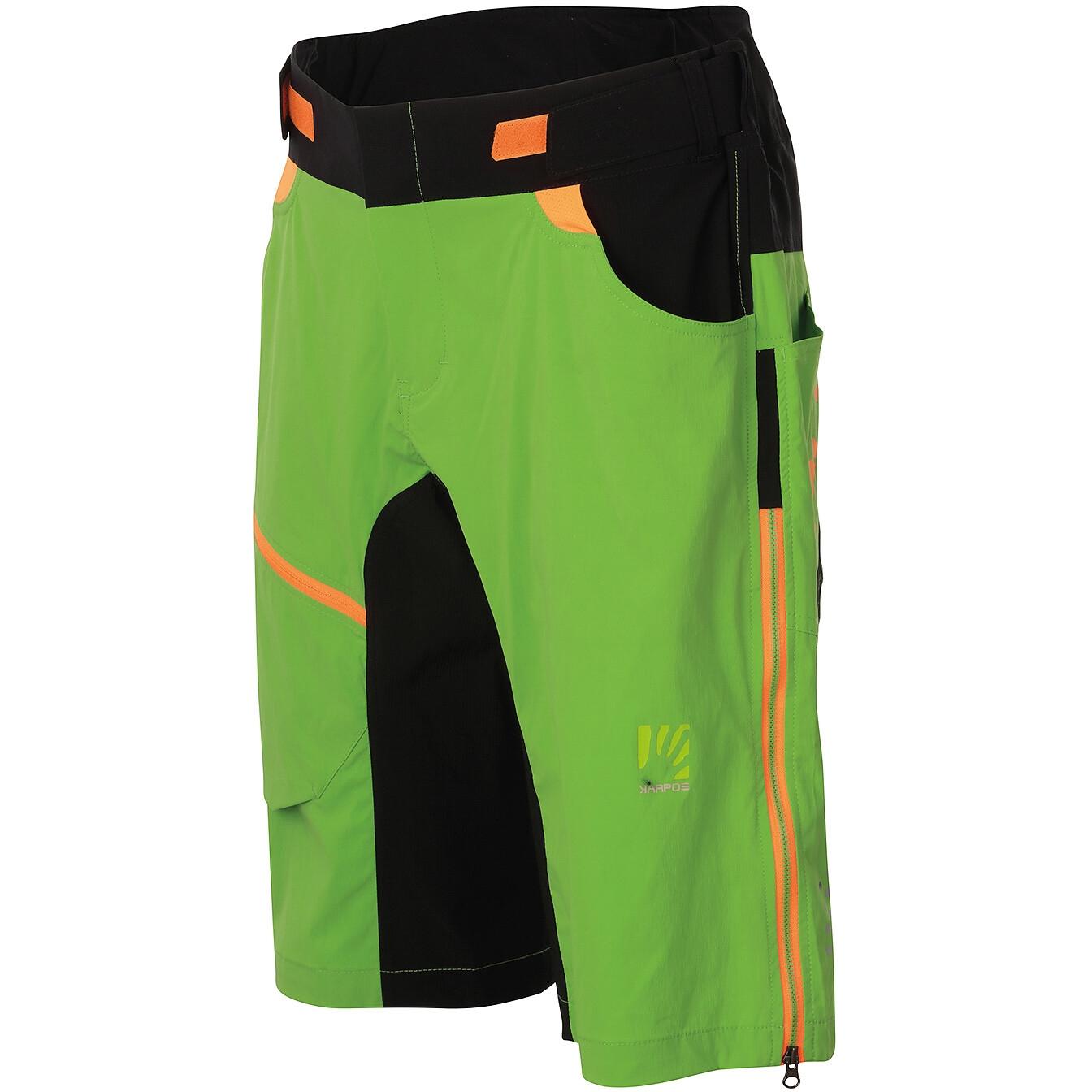 Karpos Jump Shorts - apple green/black
