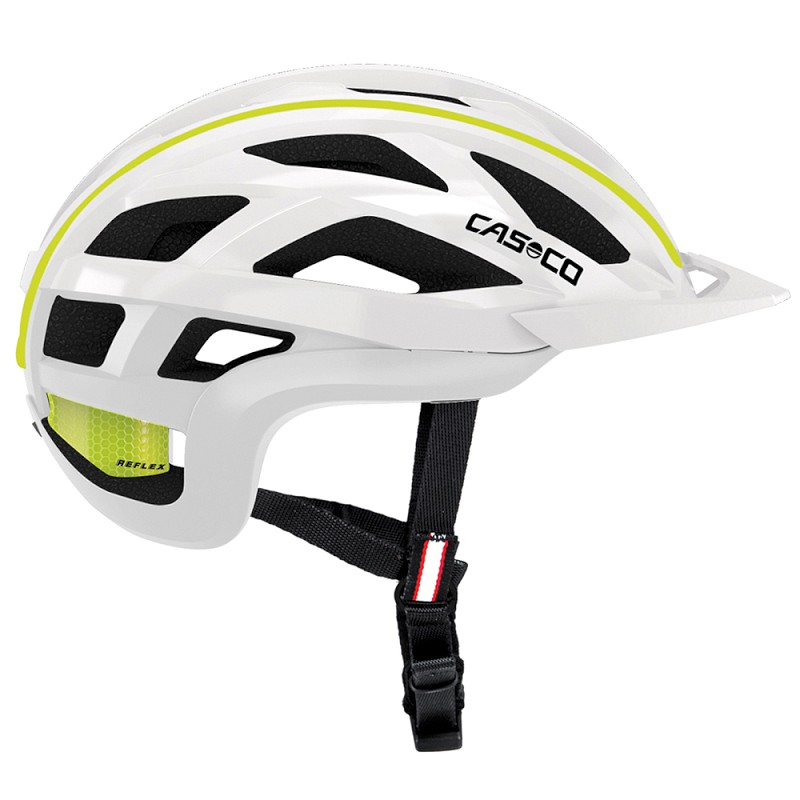 Casco Cuda 2 Helmet - white-neon yellow shiny