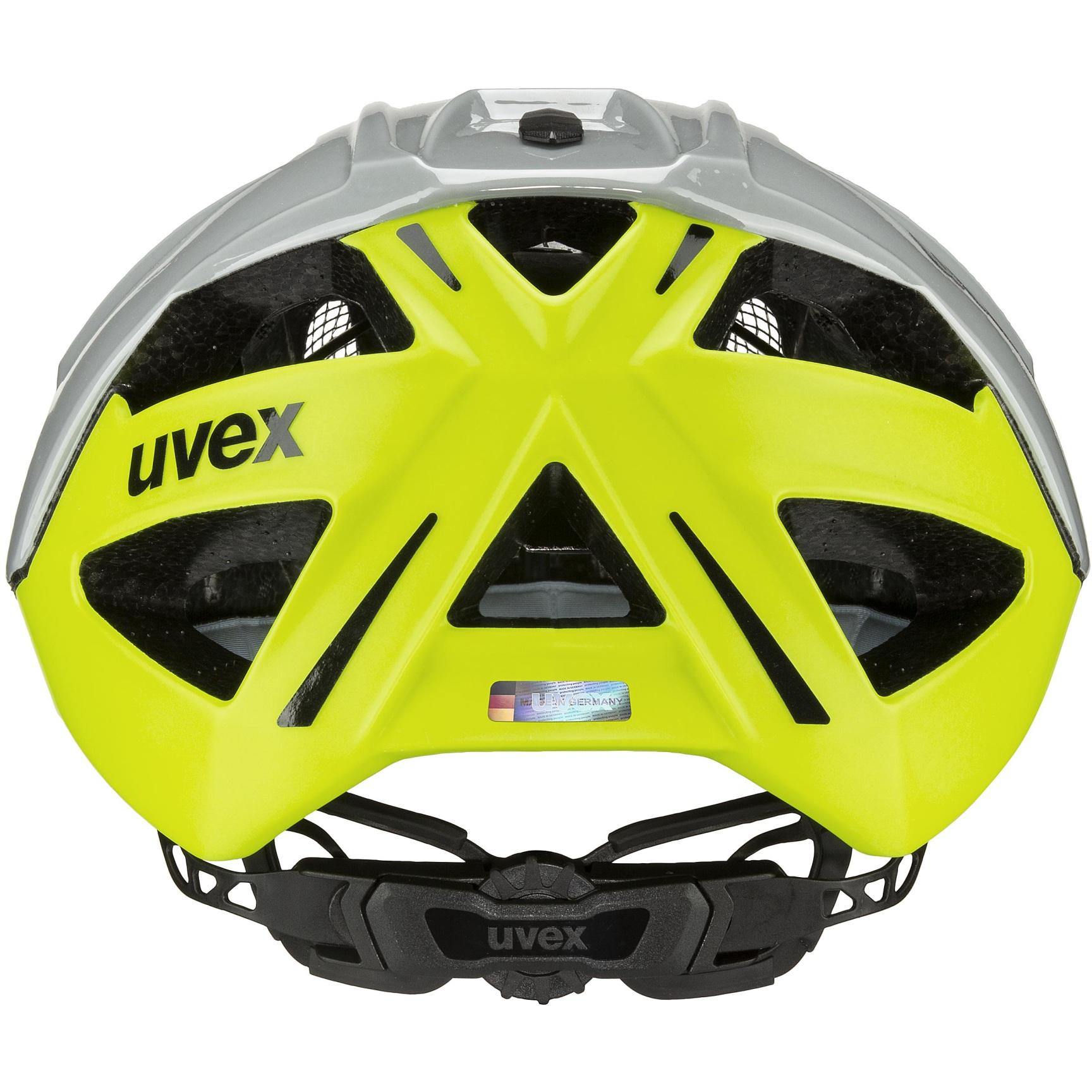 Bild von Uvex gravel-x Helm - rhino-neon yellow
