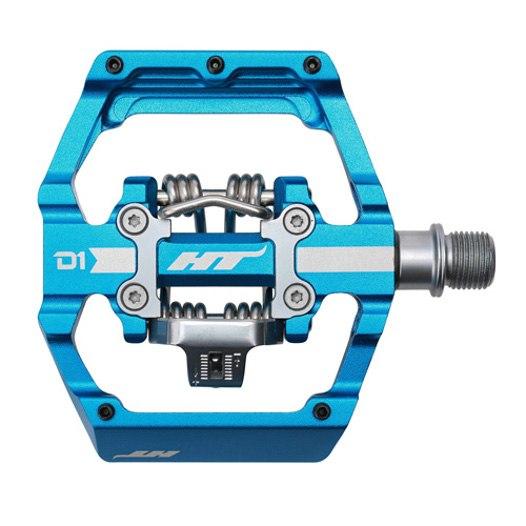 Produktbild von HT D1 DUO Klickpedal / Flatpedal - marineblau