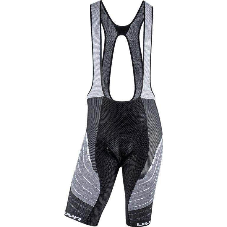UYN Alpha Biking Bib Shorts - White/Black