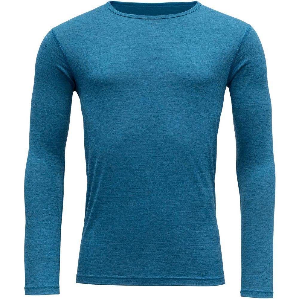 Devold Breeze Man Long Sleeve Shirt - 258 blue melange