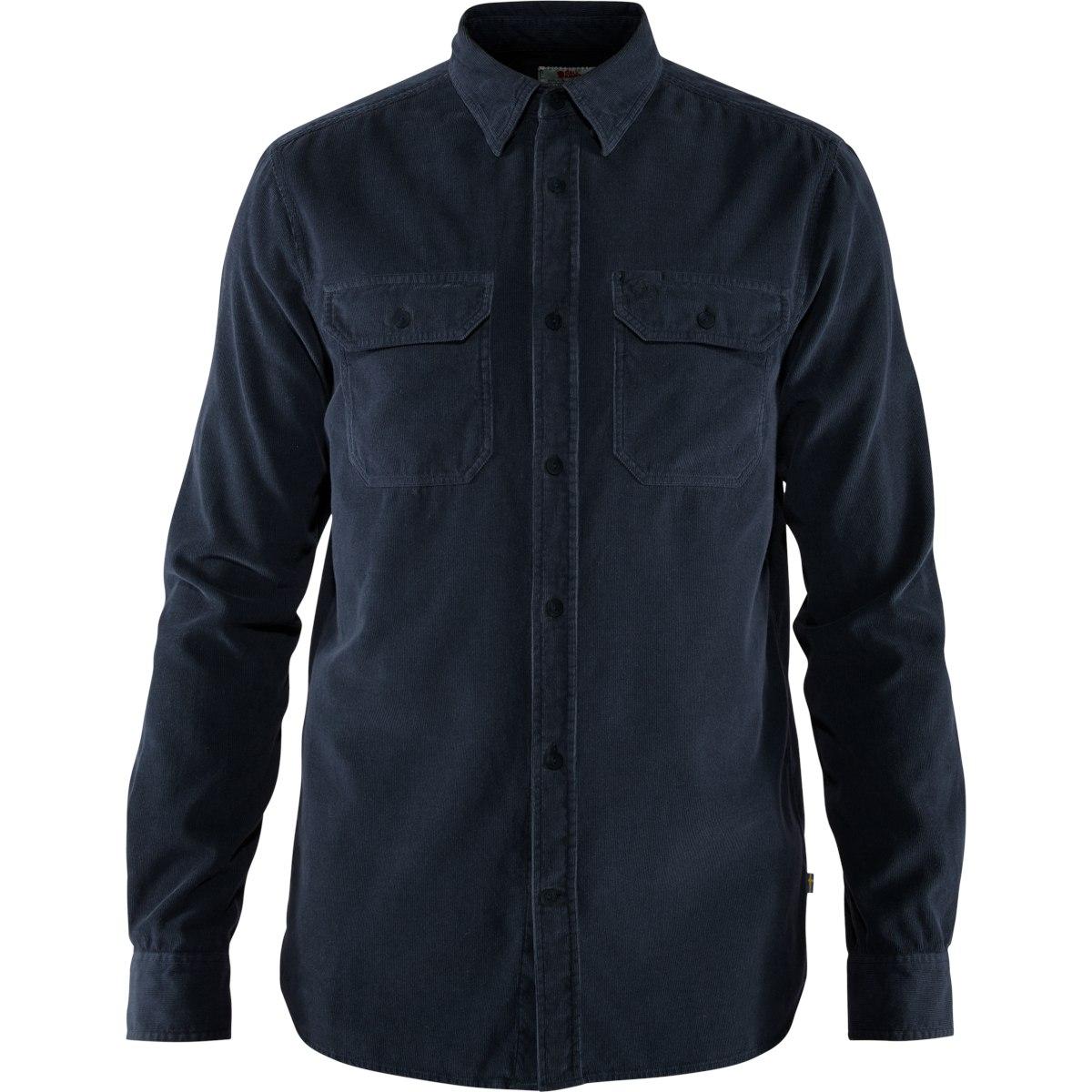 Fjällräven Övik Cord Shirt - dark navy