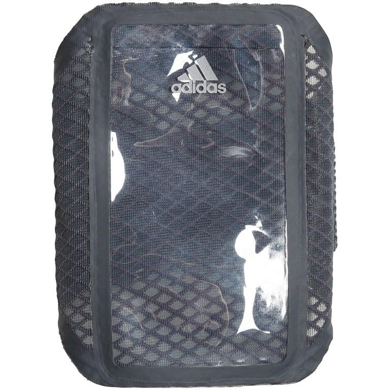 adidas Run Media Arm Pouch - grey six/grey six/reflective silver DT7087