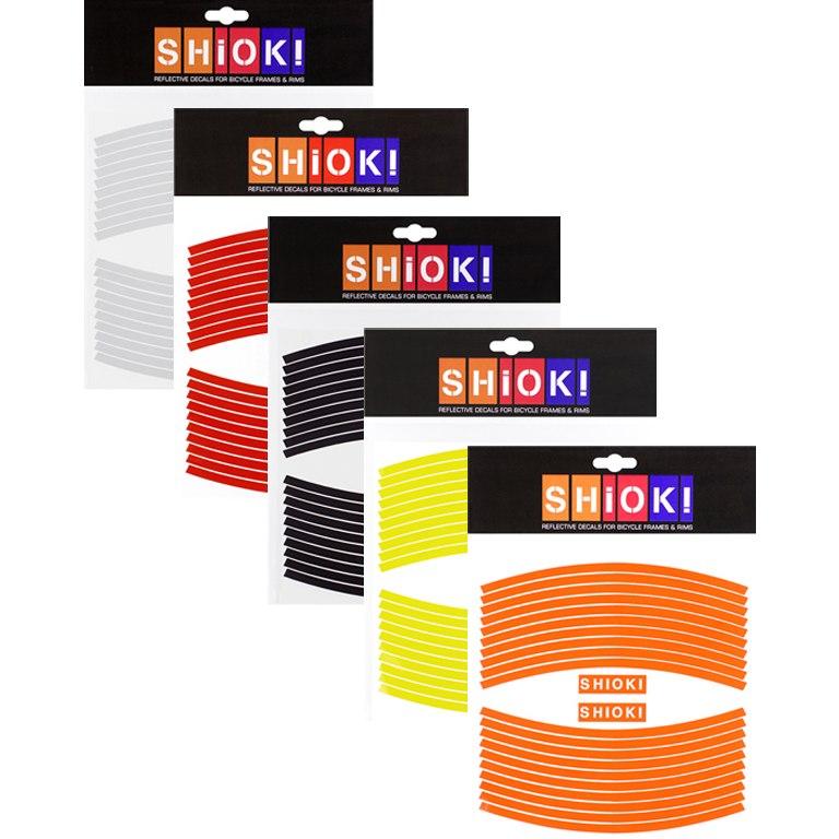 Foto de SHIOK! Straight - Reflective Rim Stickers