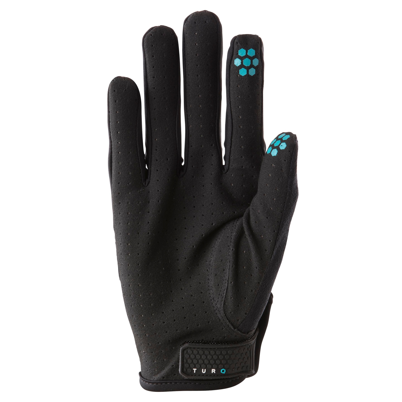 Image of Yeti Cycles TURQ DOT AIR Glove - black