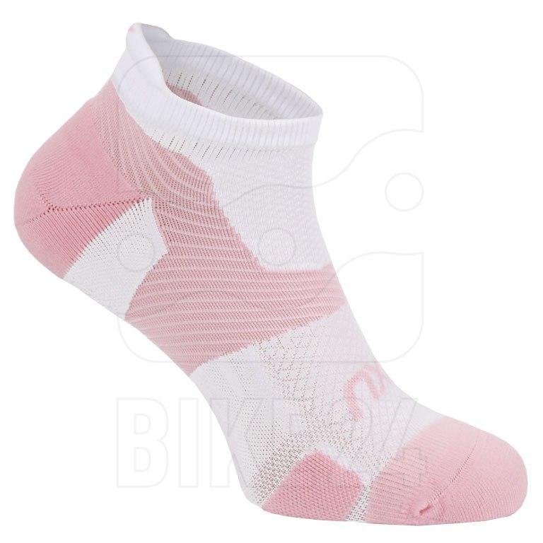 Imagen de 2XU Vectr Light Cushion No Show Socks - blossom/white