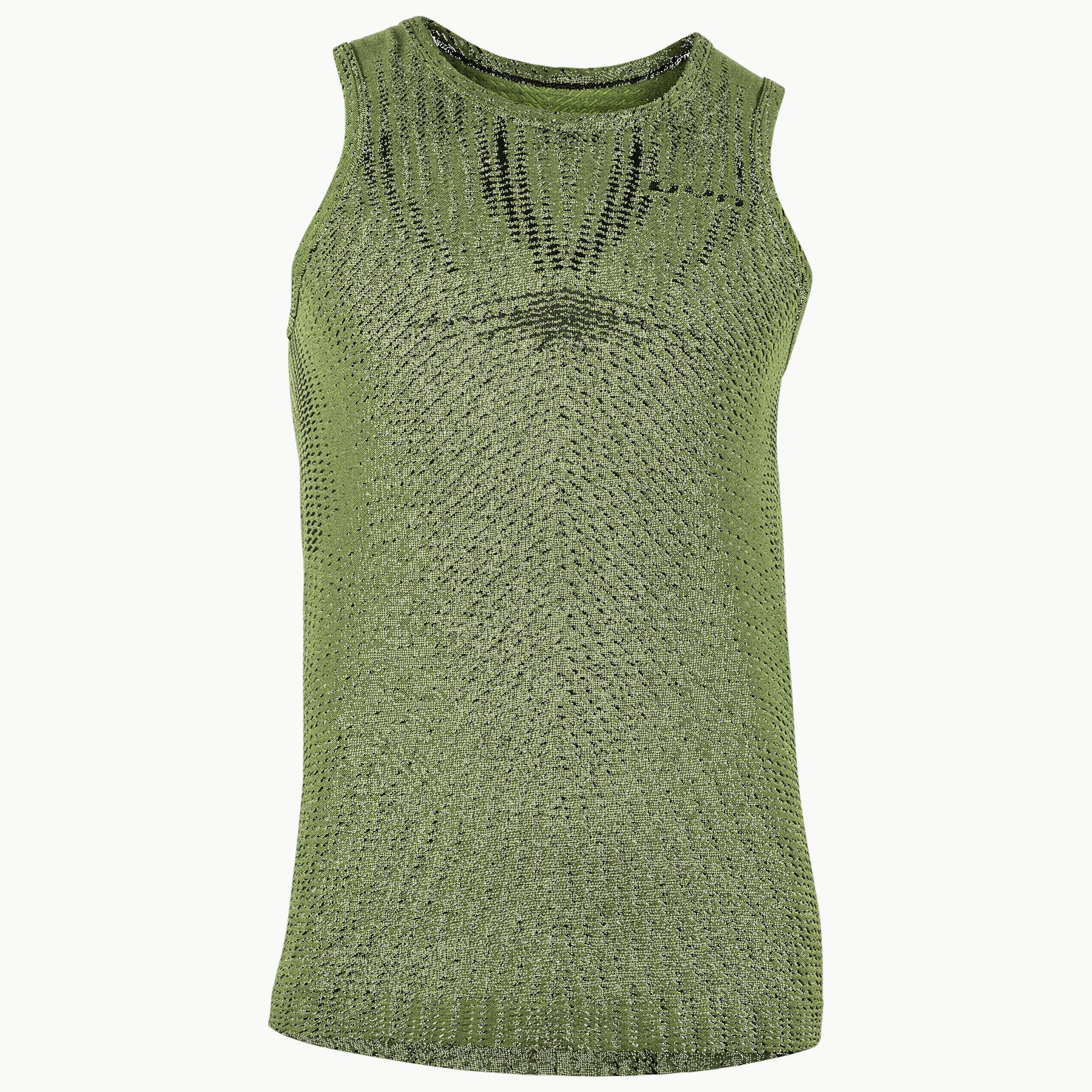 UYN Activyon Running 2.0 Sleeveless Shirt - Green Parrot / Parrot Light
