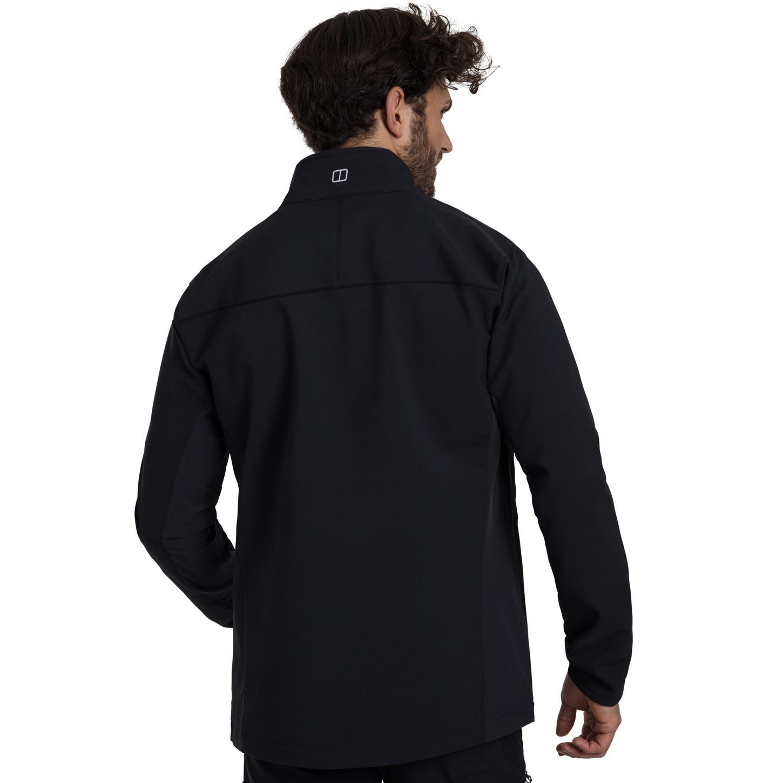 Image of Berghaus Men's Ghlas 2.0 Softshell Jacket - Jet Black BP6