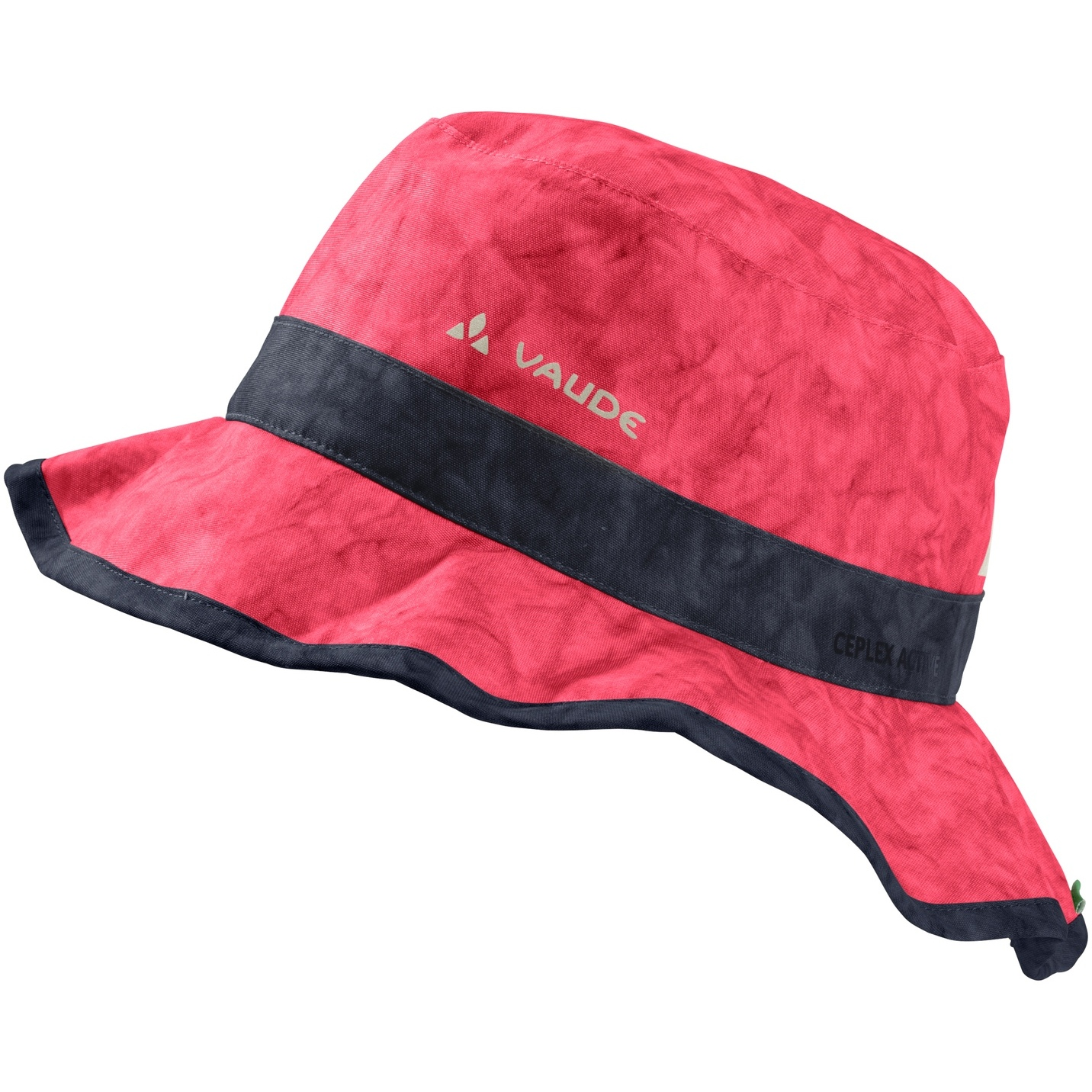 Vaude Kids Faunus Regen Hut - bright pink