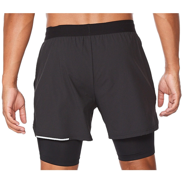 "Imagen de 2XU Aero 2-In-1 5"" Pantalon corto de correr - black/silver reflective"