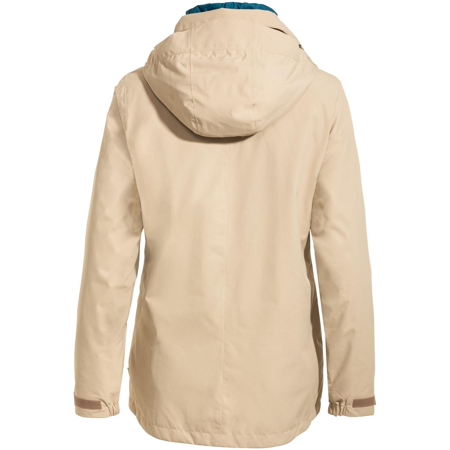 Image of Vaude Women's Skomer 3in1 Jacket - linen