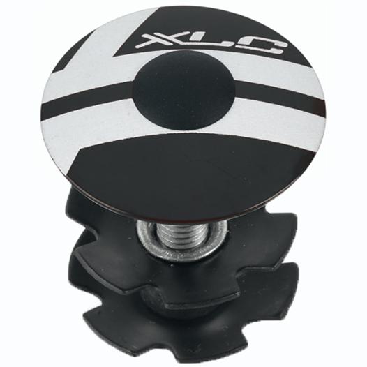 XLC Aheadkappe AP-S01 - 1 1/8 Zoll - schwarz