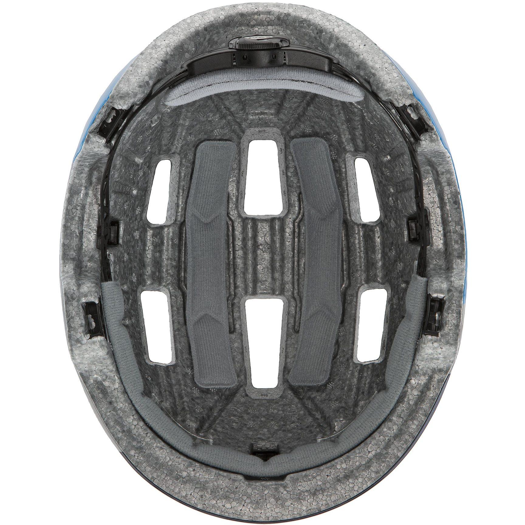 Image of Uvex hlmt 4 Kids Helmet - deep space-blue wave