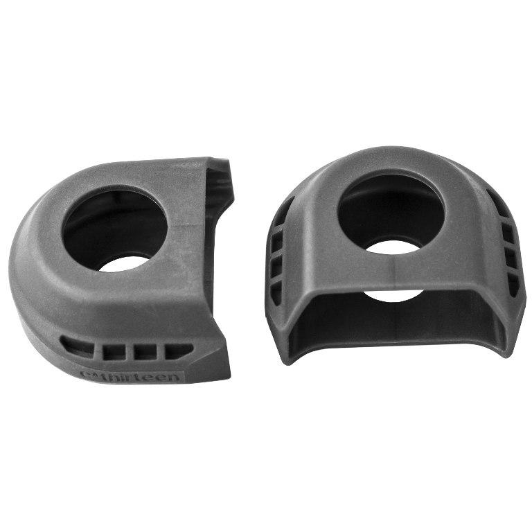 e*thirteen LG1r/TRSr Race Carbon Crank Shoes - Quick Stick Protector - CSS30-105 - black