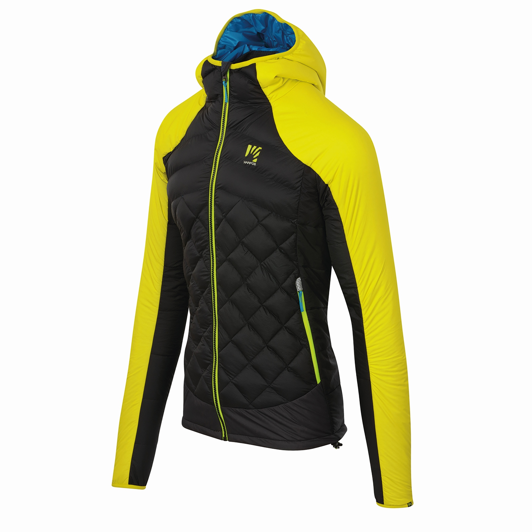 Image of Karpos Lastei Active Plus Jacket - Sulphur Spring/Black