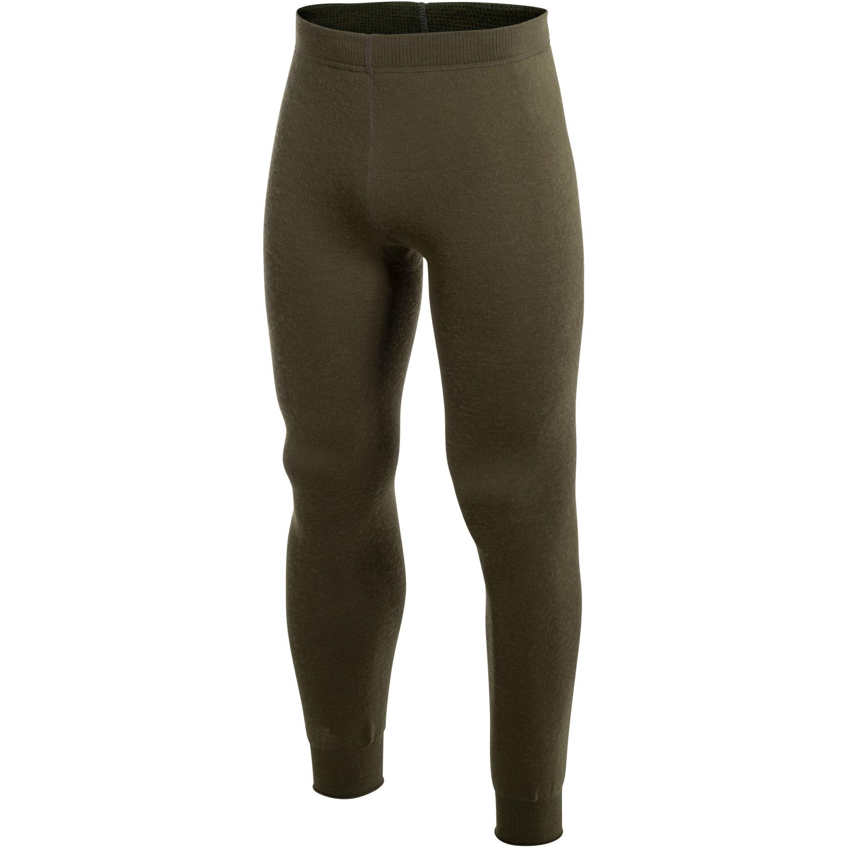 Woolpower Long Johns 200 Unisex Underpants - pine green