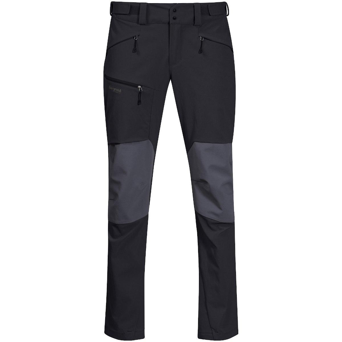 Bergans Rabot 365 Hybrid Pants - solid charcoal/solid dark grey/silver grey