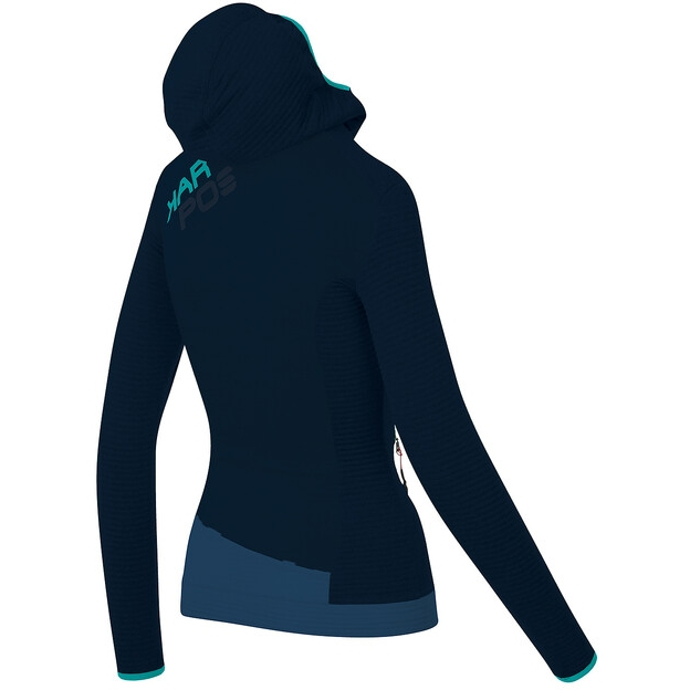 Bild von Karpos Nuvolau Damen Fleece Jacke - sky captain/insignia blue