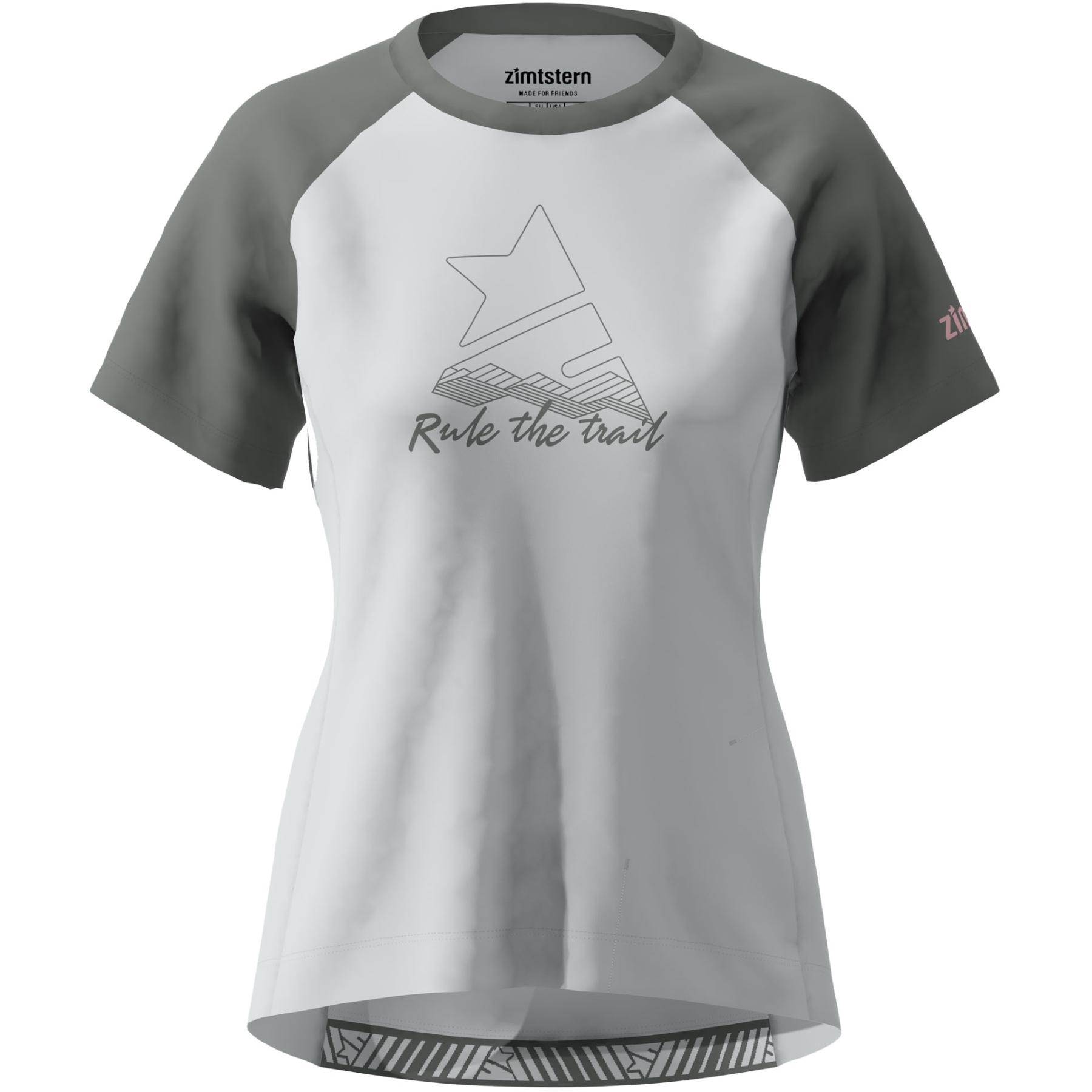 Zimtstern PureFlowz Kurzarm-Shirt Damen - glacier grey/gun metal