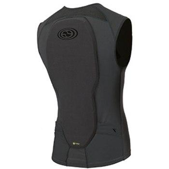 Image of iXS Flow Vest upper body protective for Kids - grey