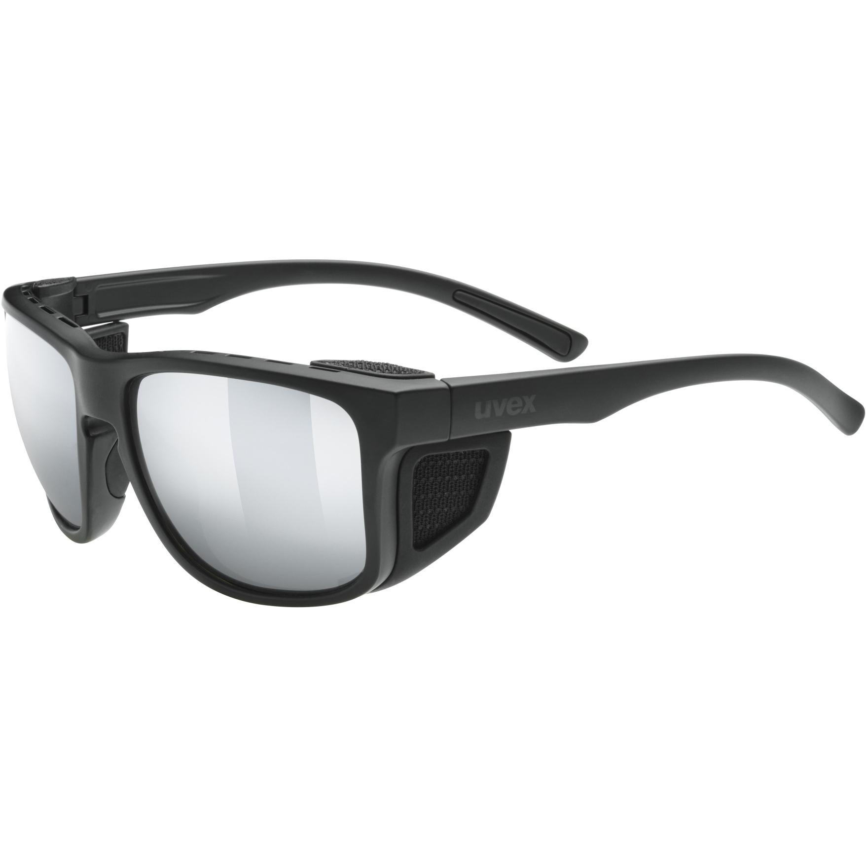 Uvex sportstyle 312 Glasses - black mat/mirror silver