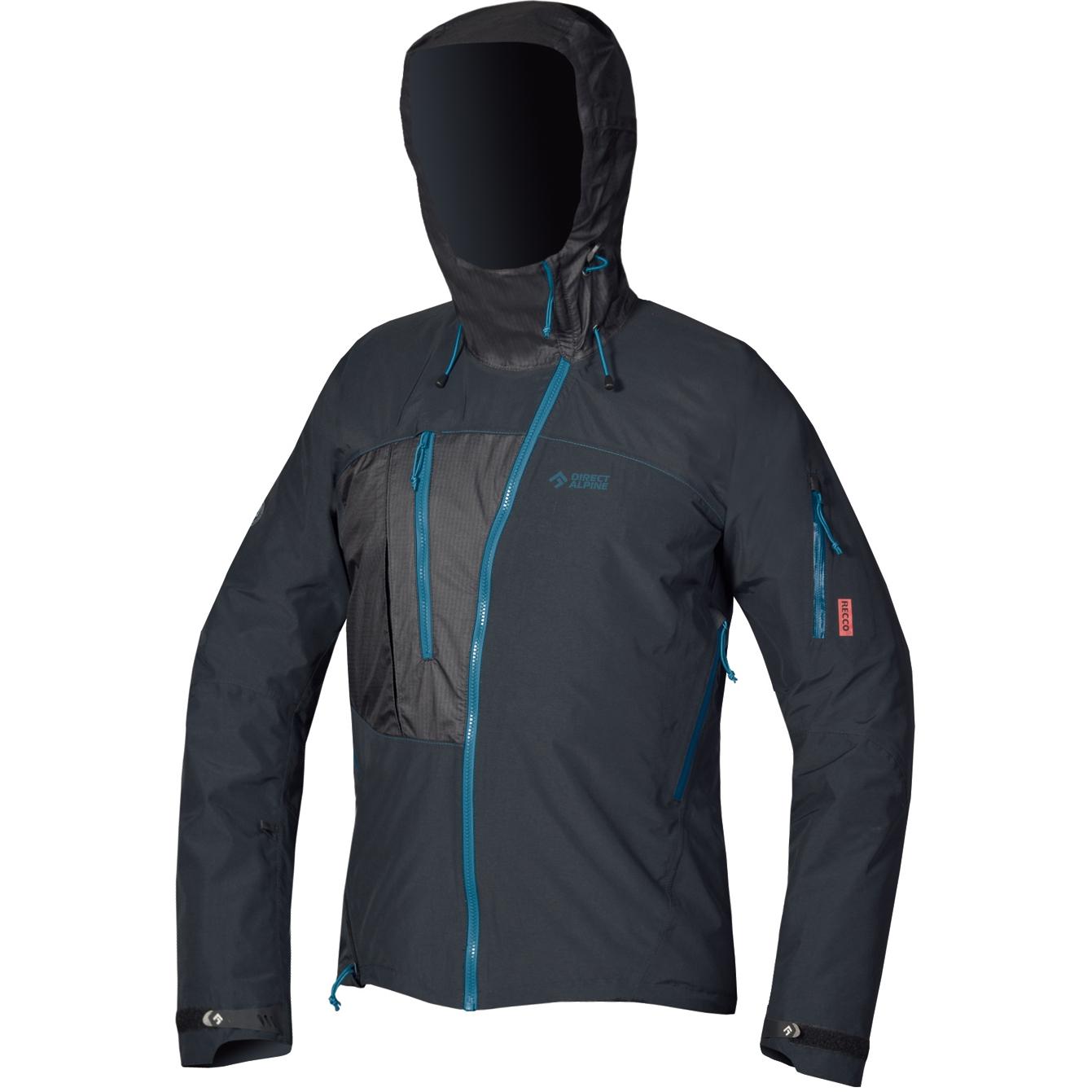 Image of Directalpine Devil Alpine Jacket - anthracite/petrol