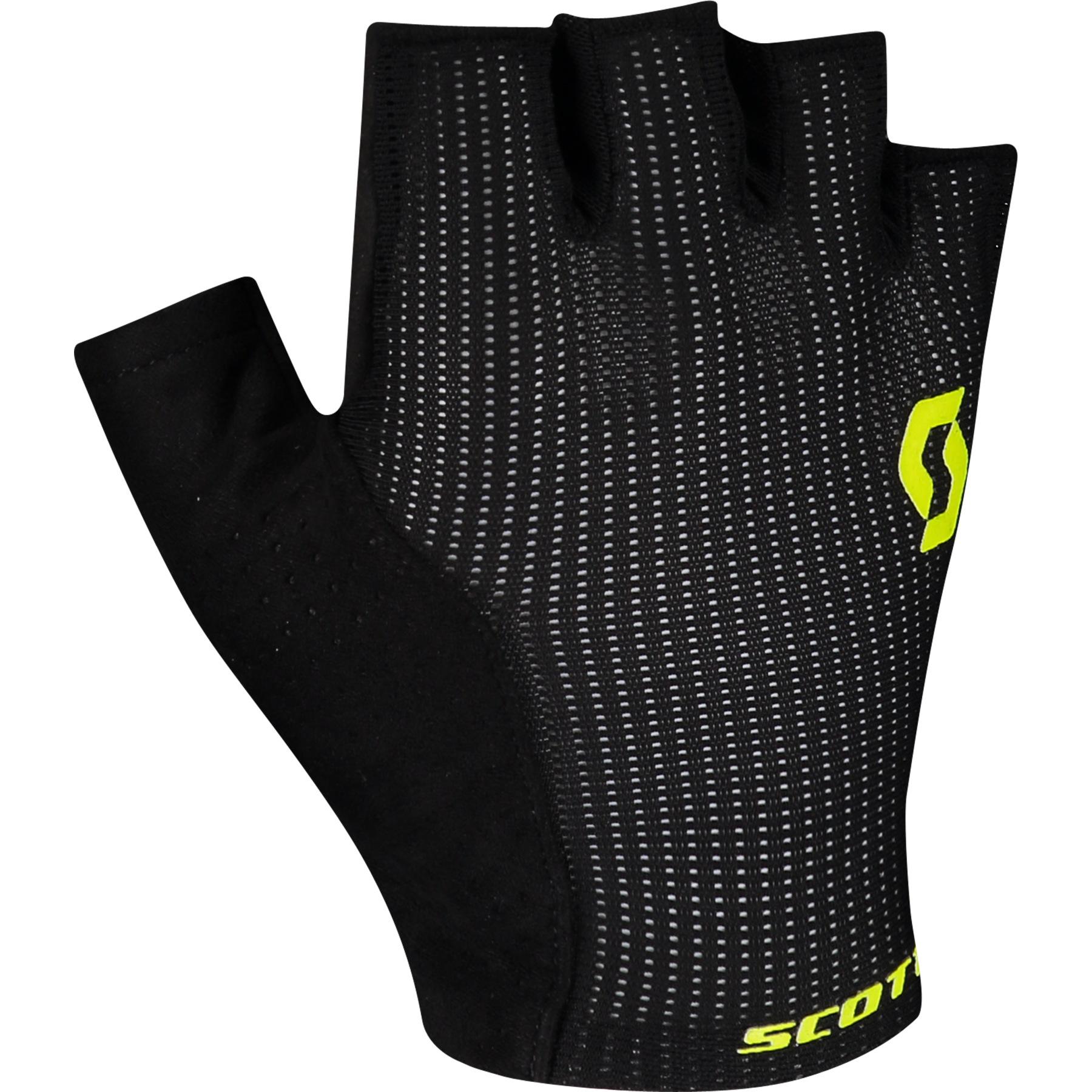 Foto de SCOTT Essential Gel SF Guantes de ciclismo - black/sulphur yellow