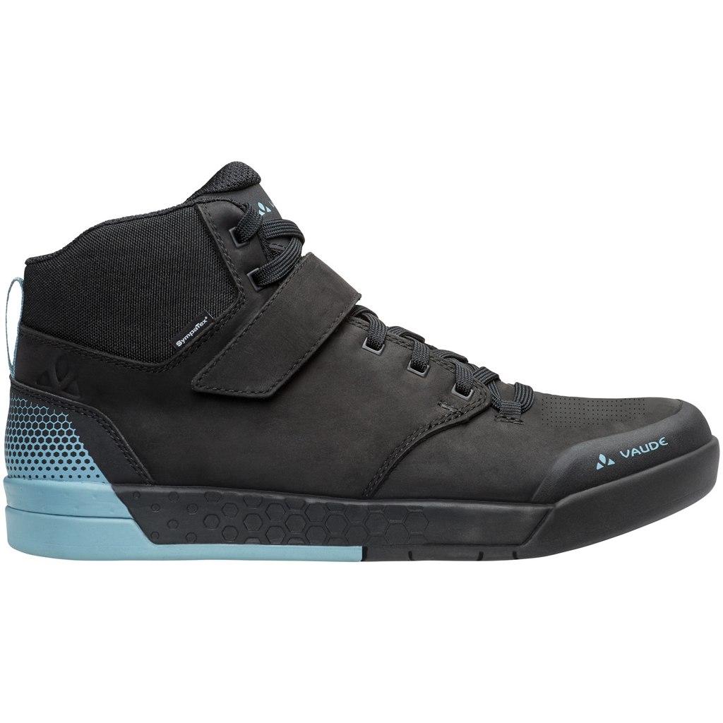 Vaude AM Moab Mid STX All-Mountain Flat Pedal Shoes - phantom black