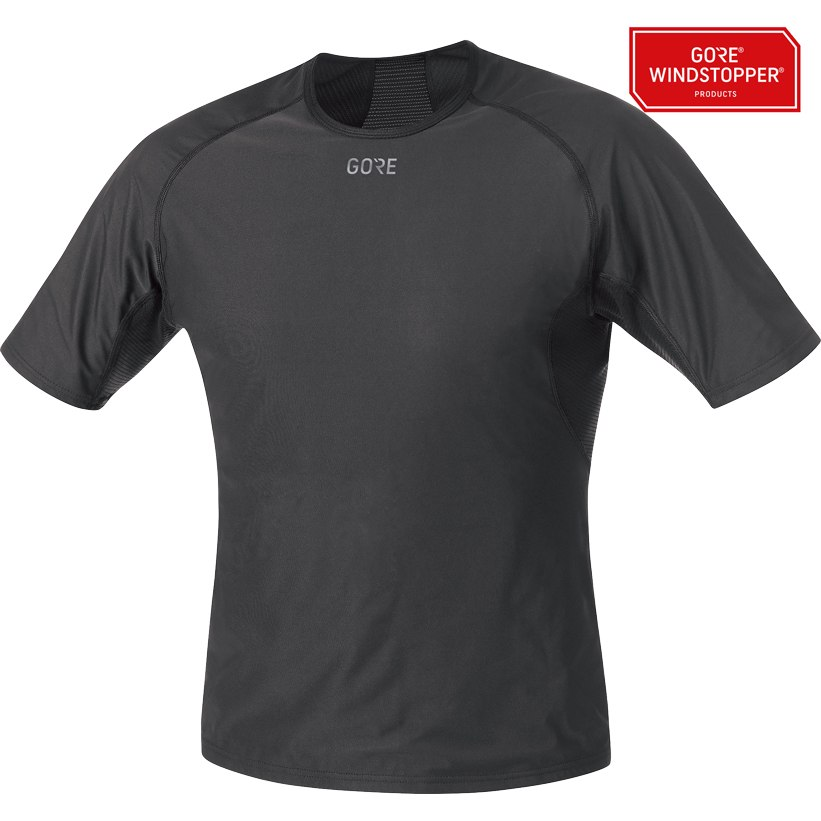 Foto de GORE Wear M GORE® WINDSTOPPER® Base Layer Camiseta - black 9900