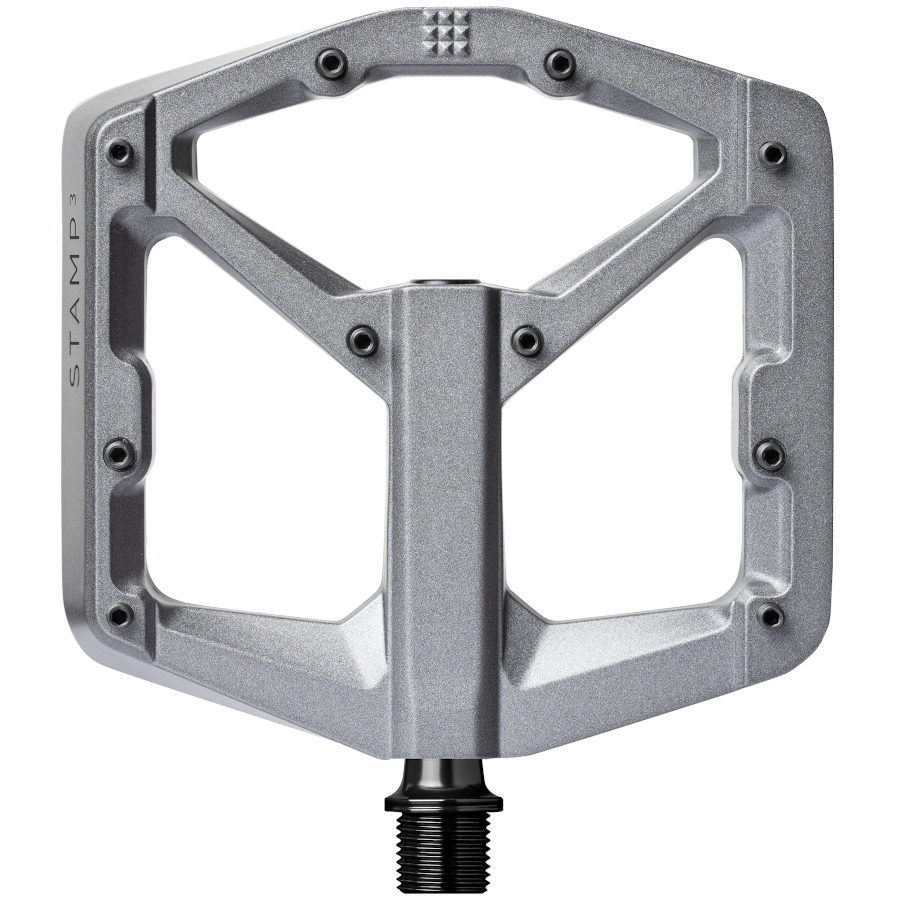 Picture of Crankbrothers Stamp 3 Magnesium Flat Pedal - large - grey