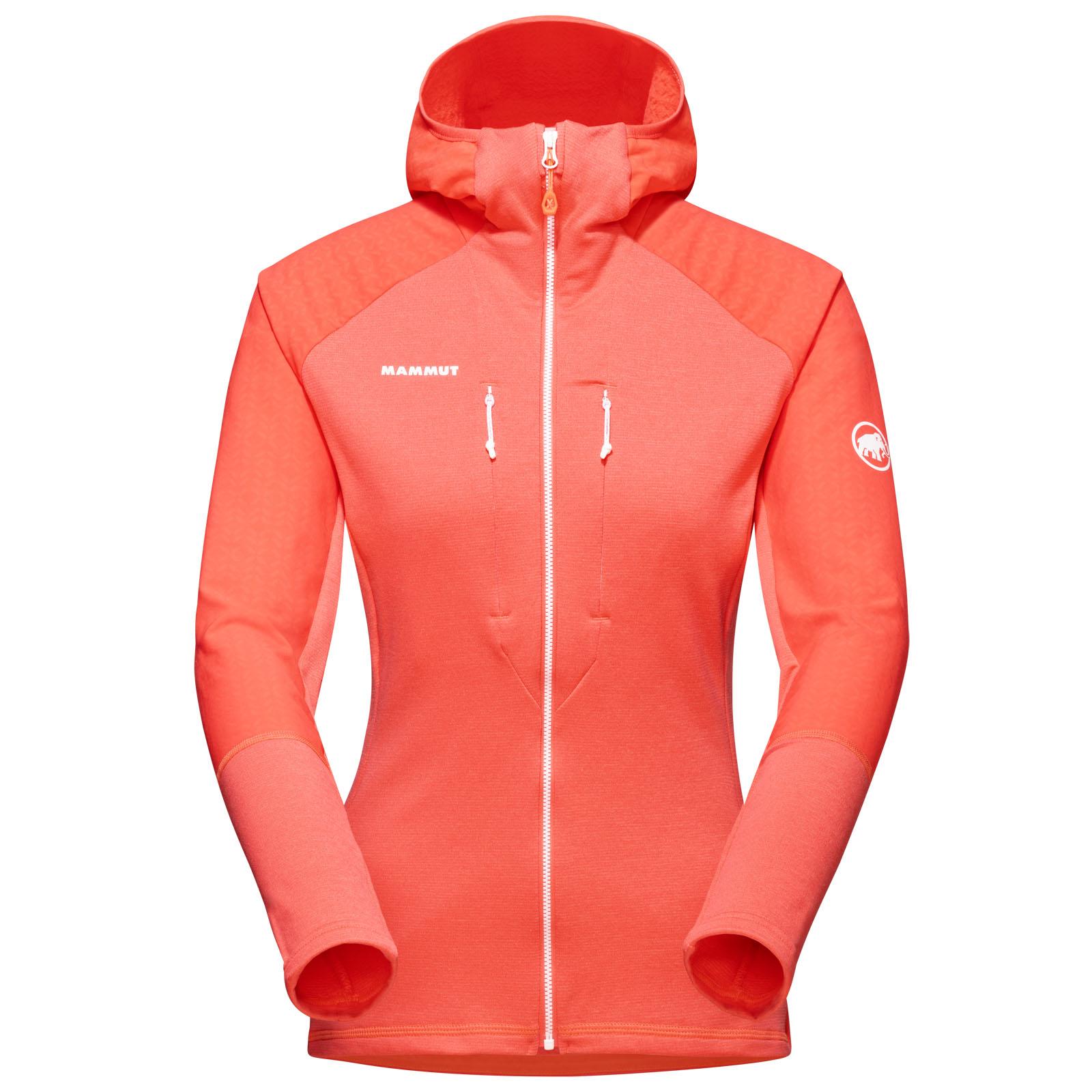 Mammut Eiswand Advanced Hooded Midlayer Jacket Women - barberry