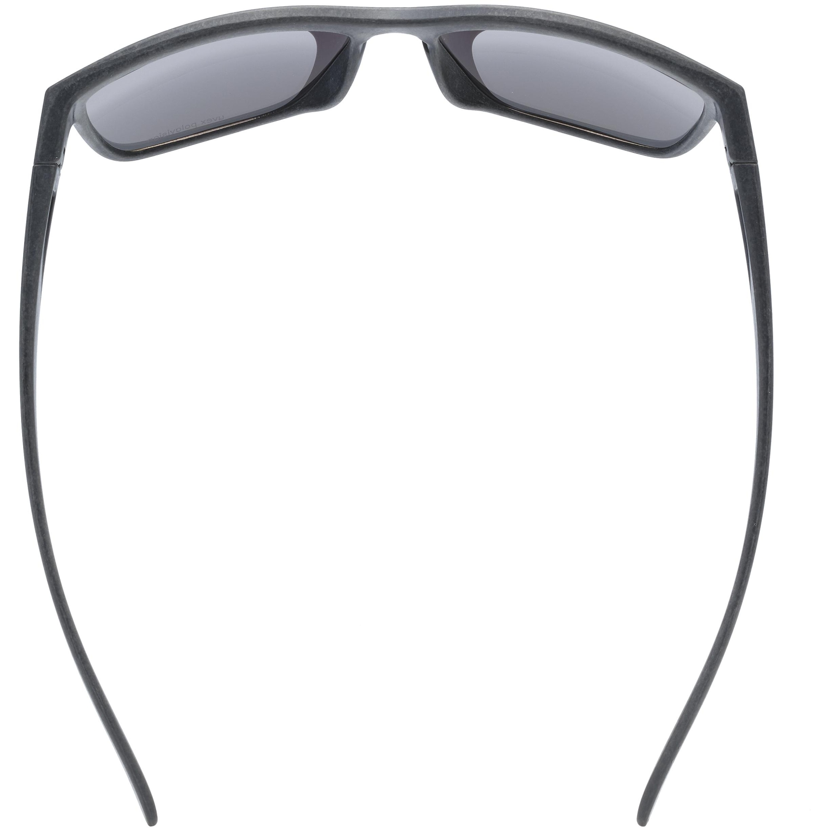 Image of Uvex lgl ocean 2 P Glasses - black mat/polavision mirror blue
