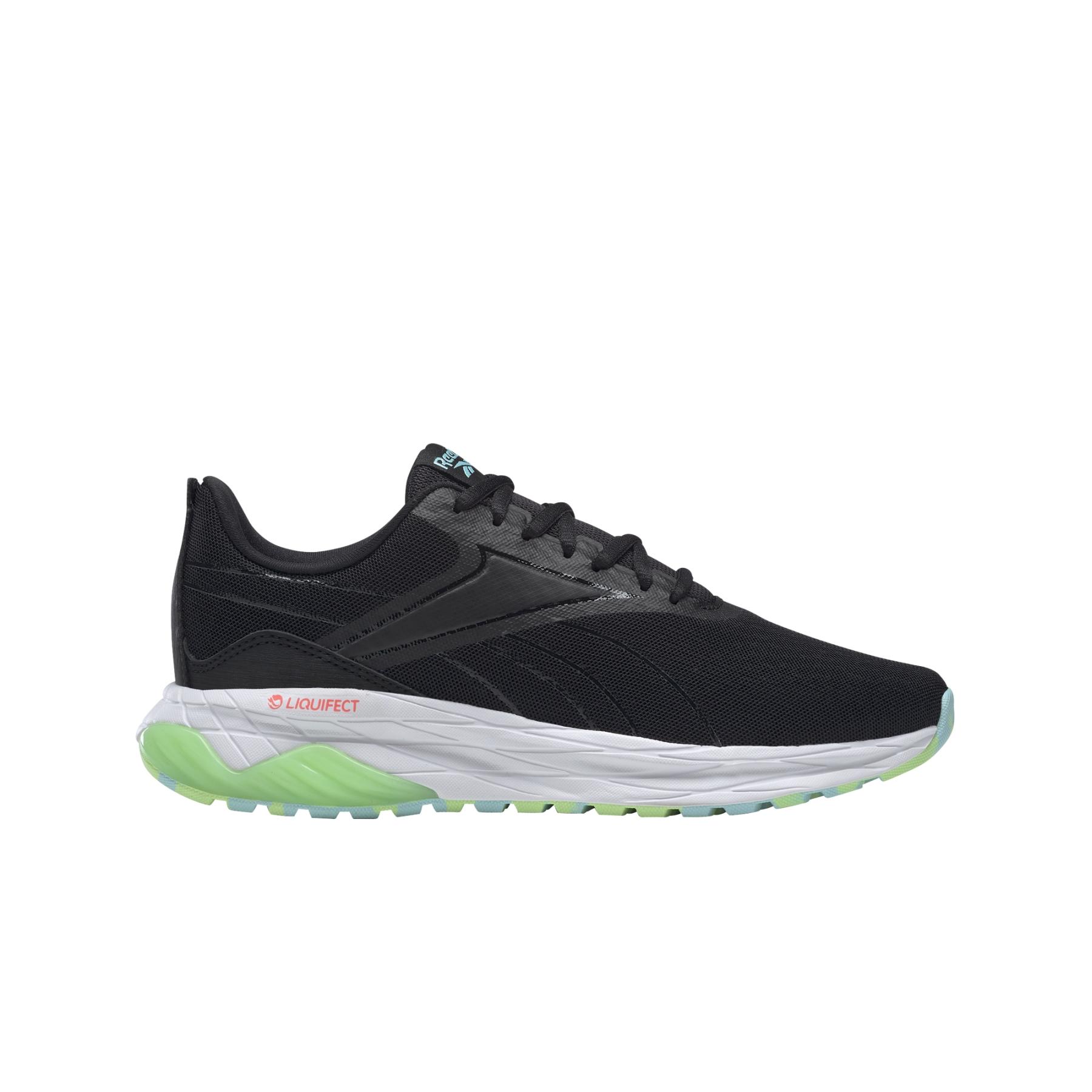 Reebok Liquifect 180 2.0 Zapatillas de correr para mujer - black/neon mint/orange flare FX1642