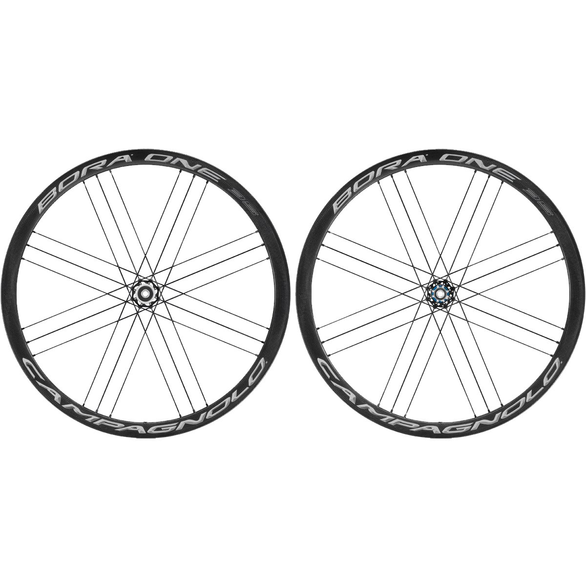 Campagnolo Bora One DB 35 - 28 Inches Wheelset - Carbon - AFS - Clincher - FW: 12x100mm   RW: 12x142mm - Dark