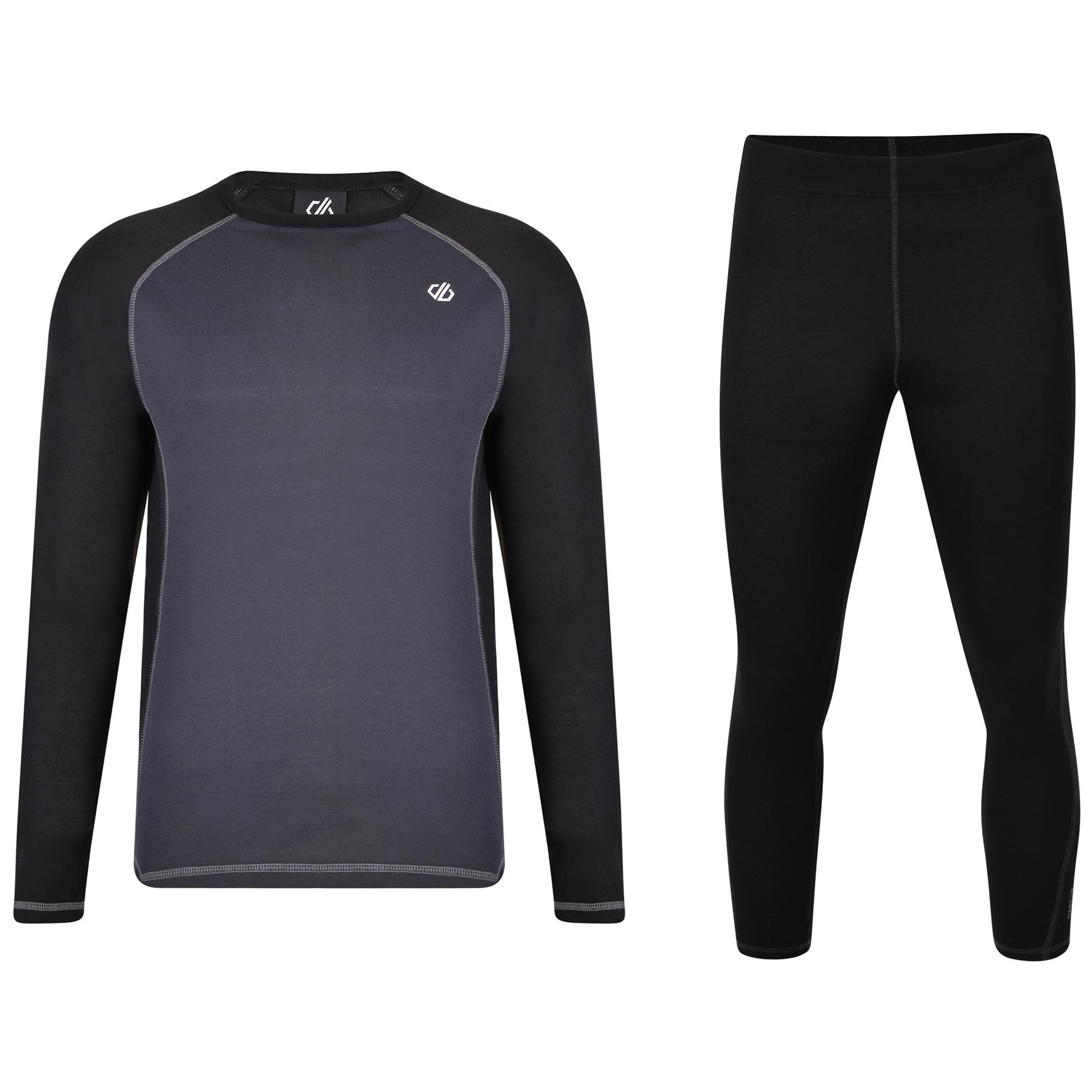 Dare 2b Exchange Base Layer Underwear Set - 06N Black/Ebony Grey