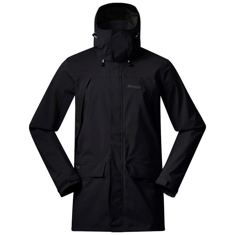 Produktbild von Bergans Breheimen 2L Jacke - Black/Solid Charcoal