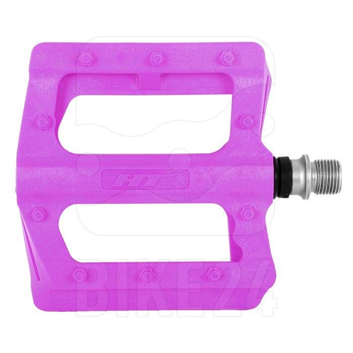 Produktbild von HT PA12 NANO P Flat Pedal Aluminium - dunkelviolett