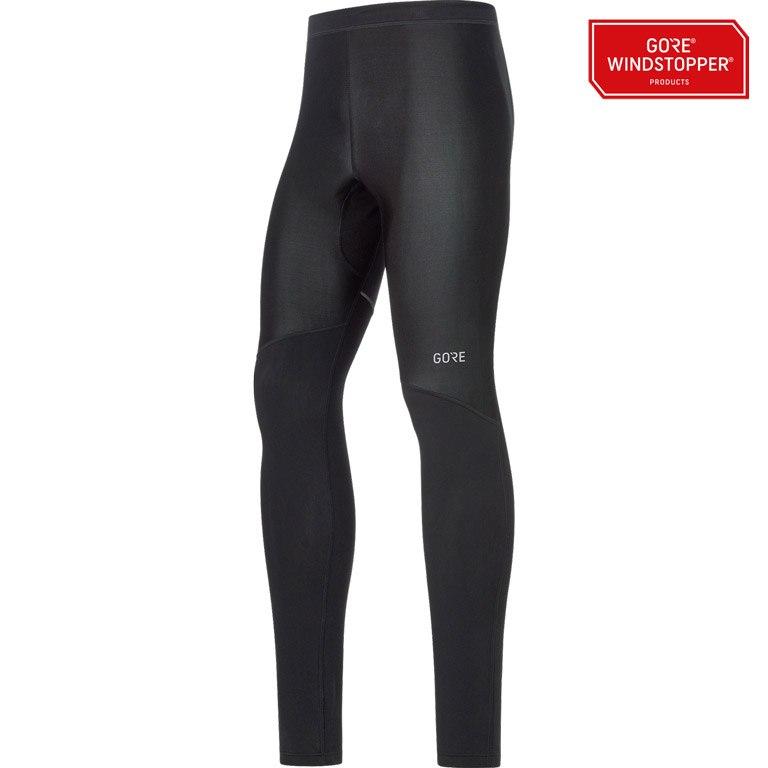 Produktbild von GORE Wear R3 Partial GORE® WINDSTOPPER® Tights - black 9900