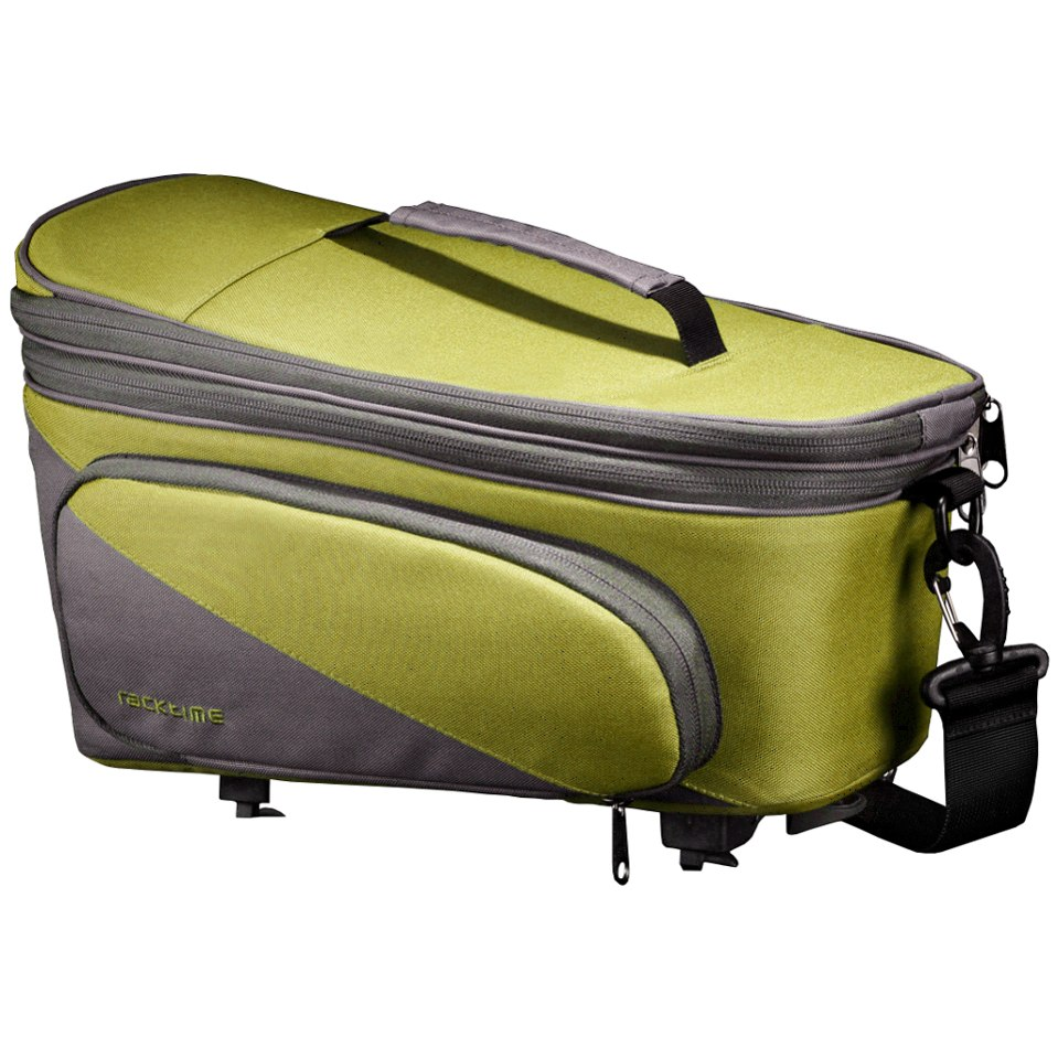 Racktime Talis Plus Rack Top Bag - Lime Green   Stone Grey